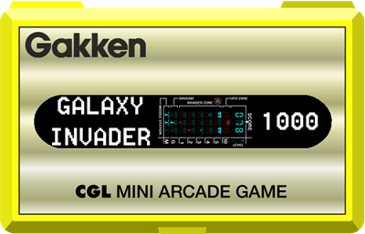 Galaxy Invader 1000 - Clear Logo