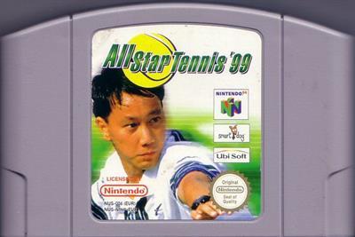 All Star Tennis 99 - Cart - Front