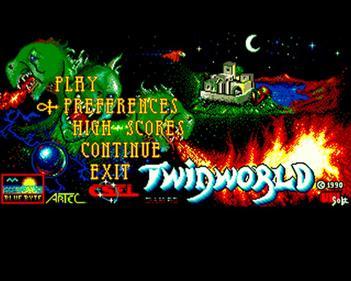 Twin World - Screenshot - Game Select