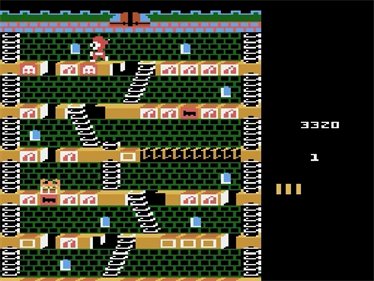 Mr. Do!'s Castle - Screenshot - Gameplay