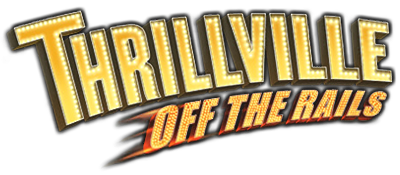 Thrillville: Off the Rails - Clear Logo