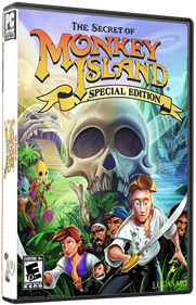 The Secret of Monkey Island: Special Edition - Box - 3D