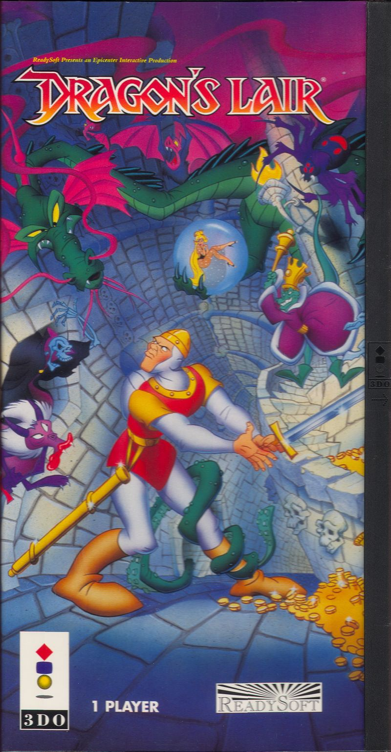 Dragon 39 s lair details launchbox games database for Dragon s lair