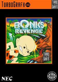 Bonk's Revenge - Fanart - Box - Front
