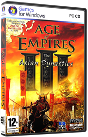 Age of Empires III: The Asian Dynasties - Box - 3D