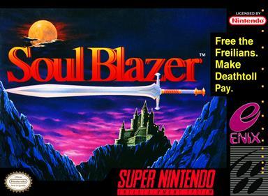 Soul Blazer - Box - Front