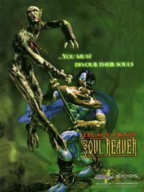 Legacy of Kain: Soul Reaver - Advertisement Flyer - Front