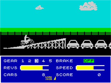 Eddie Kidd Jump Challenge - Screenshot - Gameplay