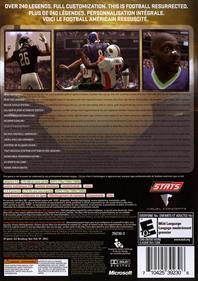 All-Pro Football 2K8 - Box - Back