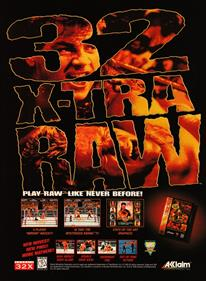 WWF Raw - Advertisement Flyer - Front