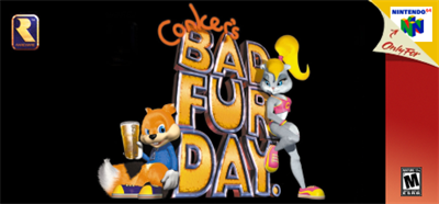 Conker's Bad Fur Day - Banner
