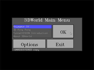 3DWorld - Screenshot - Game Title
