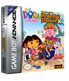 Dora the Explorer: The Search for Pirate Pig's Treasure - Box - 3D