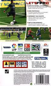 FIFA Soccer 10 - Box - Back