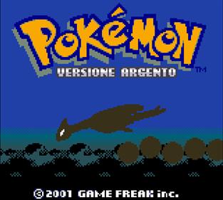 Pokémon Silver Version - Screenshot - Game Title