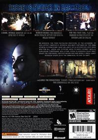 The Chronicles of Riddick: Assault on Dark Athena - Box - Back