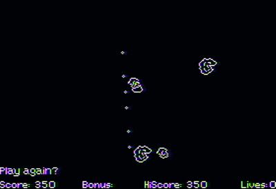 Asteron - Screenshot - Game Over
