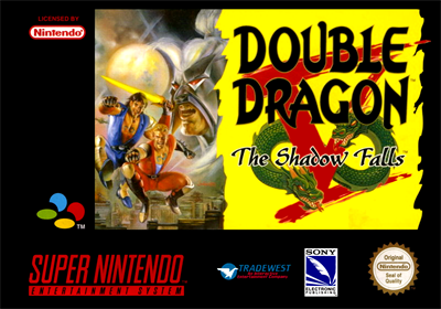 Double Dragon V: The Shadow Falls - Box - Front