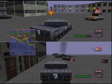 BattleTanx: Global Assault - Screenshot - Gameplay