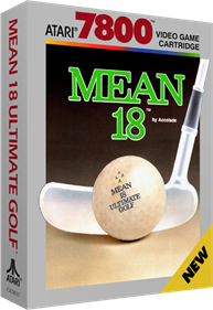 Mean 18 Ultimate Golf - Box - 3D