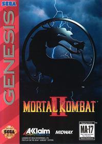Mortal Kombat II - Box - Front