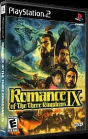 Romance of the Three Kingdoms IX - Box - 3D