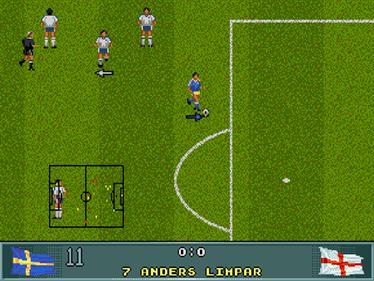 John Barnes European Football - Screenshot - Gameplay