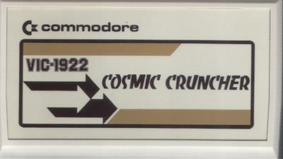 Cosmic Cruncher - Cart - Front