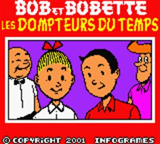 Bob et Bobette: Les Dompteurs du Temps - Screenshot - Game Title