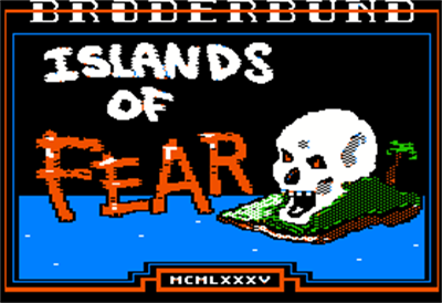 Captain Goodnight and the Islands of Fear - Screenshot - Game Title