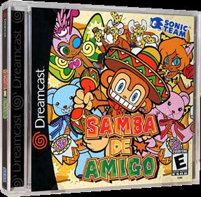 Samba de Amigo - Box - 3D