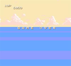 Sky Destroyer - Screenshot - Game Over