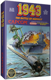1943: The Battle of Midway - Box - 3D