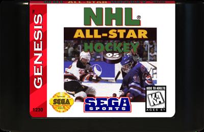 NHL All-Star Hockey '95 - Cart - Front