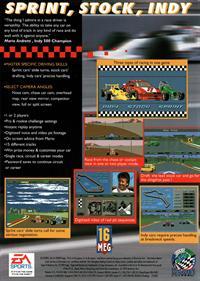 Mario Andretti Racing - Box - Back