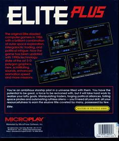 Elite Plus - Box - Back