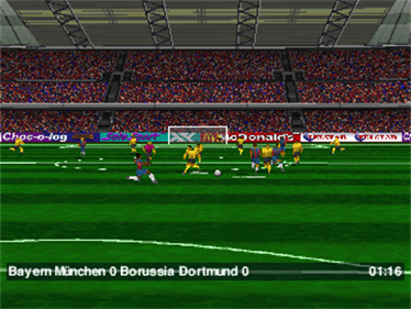 Double Header - Complete Onside Soccer and Power Slide - Screenshot - Gameplay