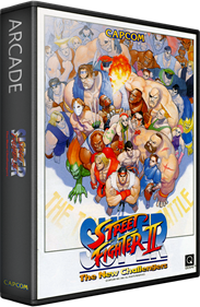 Super Street Fighter II: The New Challengers - Box - 3D