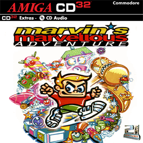 Marvin's Marvellous Adventure - Box - Front