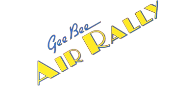 Gee Bee Air Rally - Clear Logo