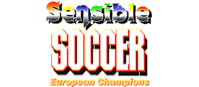 Sensible Soccer: European Champions: Limited Edition featuring World Cup Teams - Clear Logo