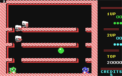 Bubble Bobble - Screenshot - Gameplay
