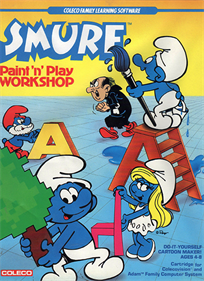 Smurf Paint 'n' Play Workshop