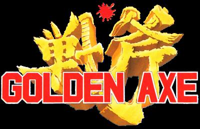 Golden Axe - Clear Logo
