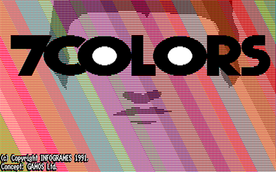 7 Colors - Screenshot - Game Title