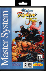 Virtua Fighter Animation - Box - Front - Reconstructed