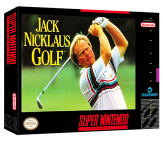 Jack Nicklaus Golf - Box - 3D