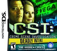 CSI: Deadly Intent - The Hidden Cases