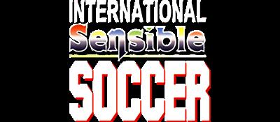 International Sensible Soccer: World Champions - Clear Logo