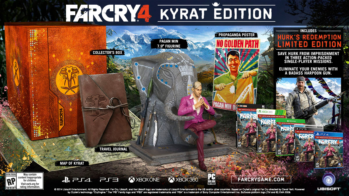 Far Cry 4 Limited Edition Details Launchbox Games Database Farcry4 Pc Game Screenshot Gameplay